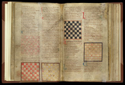 Four Diagrams Illustrating Chess-Boards, In A Collection Of Treatises On Chess